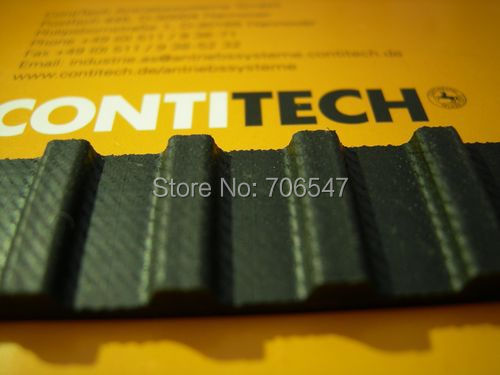 Free Shipping 330H100 teeth 66 Width 25.4mmmm=1 length 838.20mm Pitch 12.7mm 330 H 100 T Industrial timing belt 5pcs/lot