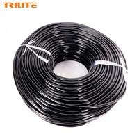TRILITE 200 m PVC חקלאי השקיה בטפטוף צינור צינורות להשקיית מערכת הפצה גמישה צינור גינה מים צינור 4/7 מ