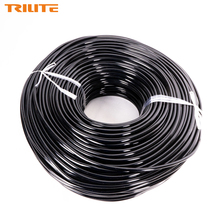 TRILITE 200m PVC Agricultural Drip Irrigation Hose Distribution Tubing for Watering System Flexible Garden Water Hose Pipe 4/7mm