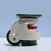 4 PCS GD-40F industrial adjustable wheels leveling casters swivel