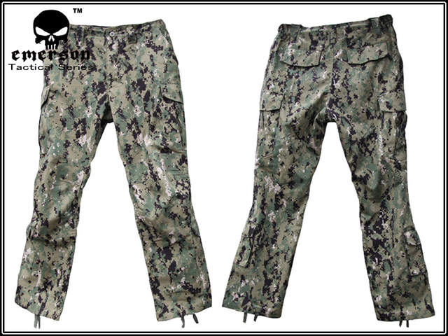 45eaa0599730a placeholder Military Hunting Combat BDU Shirt   Pants EMERSON NWU Type III  AOR2 Uniform EM6892