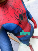 Free Shipping DHL 3D Printed Ultimate Spider Man Cosplay Costume Male Bodysuit Superhero Tight Zentai Spidey