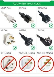 Image 5 - Prise universelle ue adaptateur 16A prises électriques International prise de courant convertisseur ca 250V pour outil de voyage