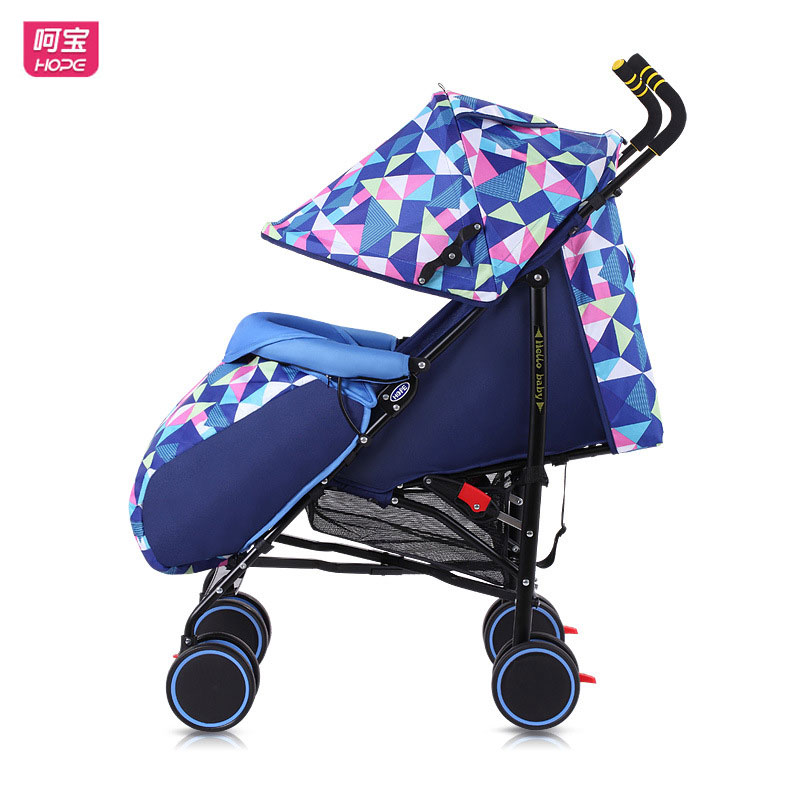 Здесь продается  HOPE Lightweight Baby Stroller for Newborn Baby Carriage Can Sit Lie Ultra Portable Suspension Trolley Baby Pram with Footmuff  Детские товары
