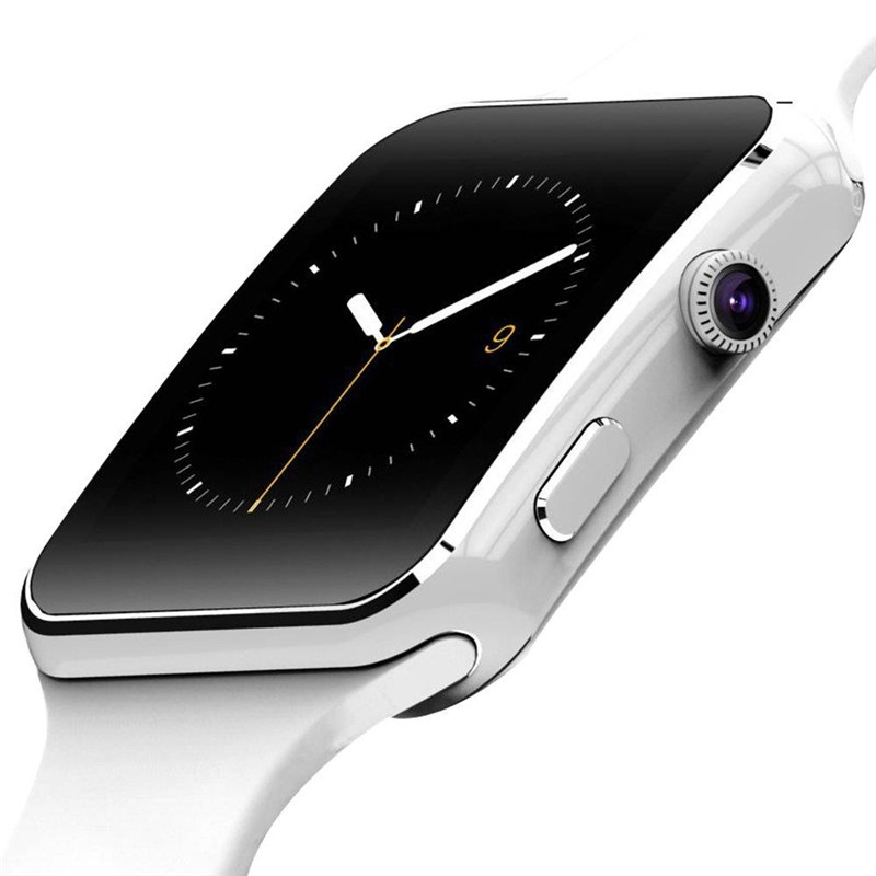 New Arrival X6 Smart Watch with Camera Touch Screen Support SIM TF Card Bluetooth Smartwatch for