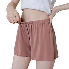 YGYEEG 2019 Women Solid Shorts Solid Color Short For Woman High Waist Seamless Shorts Free Size