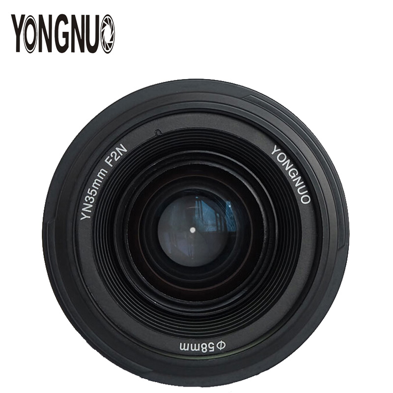 YONGNUO YN35mm 35mm F2 Lens 1:2 AF/MF Wide-Angle Fixed/Prime Auto Focus Lens For Nikon D3300 D3200 D7000 D7100 D5100 DSLR Camera mf2300 f2