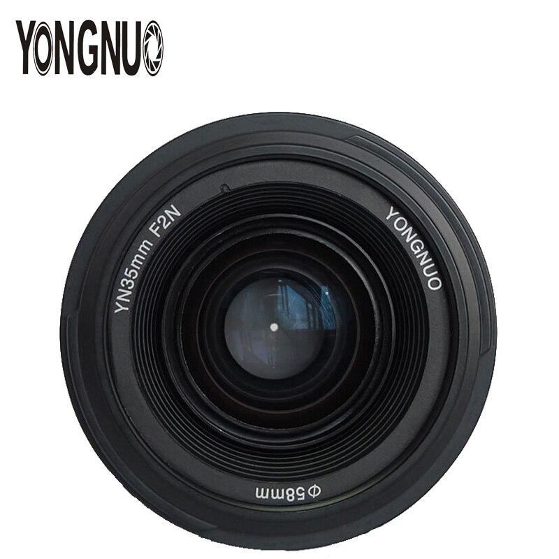 YONGNUO YN35mm 35mm F2 objectif 1:2 AF/MF grand Angle fixe/objectif de mise au point automatique Prime pour Nikon D3300 D3200 D7000 D7100 D5100 appareil photo reflex numérique