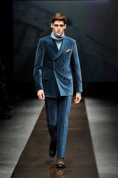 Latest Coat Pant Designs Navy Blue Velvet Double Breasted Men Suit Slim Fit Skinny 2 Piece Fashion Suits Tuxedo Custom Vestidos