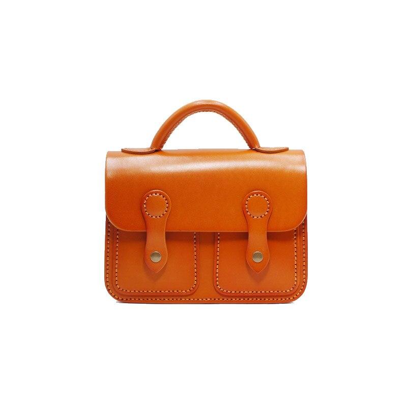 Japan Style 100% Handmade Genuine Leather Girls Messenger Bag Satchel Bag Ladies Small Handbag Cowhide Shoulder Bag For Women недорго, оригинальная цена