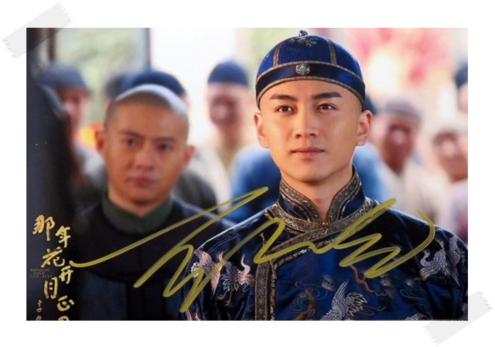 signed  CHEN XIAO autographed photo 6 inches free shipping 8 versions 102017A signed tfboys jackson autographed photo 6 inches freeshipping 6 versions 082017 b