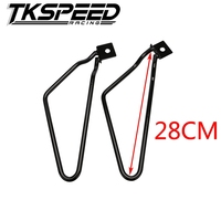 FREE SHIPPING Kumeed 2pcs Motorcycle Saddlebags Brackets Support for Xl883/1200 Hd1450/1584