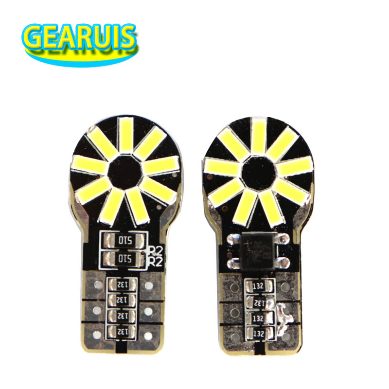New high lumen <font><b>T10</b></font> <font><b>18</b></font> <font><b>SMD</b></font> 4014 LED Non polar 0.13A W5W pcb 501 168 194 Car Marker Parking Light Bulb white 12V image