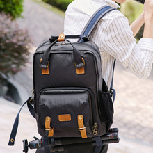 лучшая цена Simple canvas bag Professional Anti-theft Waterproof Shoulder photography package DSLR Digital Camera Bag backpack