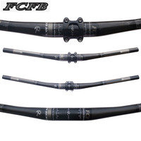FCFB FW Full Carbon Fiber Mtb Bicycle Handlebar 31 8mm Mountain Bike Carbon Handlebars 4 Upsweep