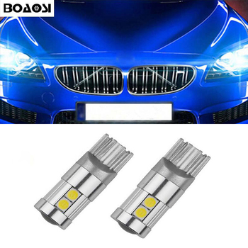 2x Canbus T10 W5W 168 LED Clearance Parking Lights For BMW E46 E39 E91 E92 E93 E28 E61 F11 E63 E64 E84 E83 F25 E70 E53 E71 E60 image