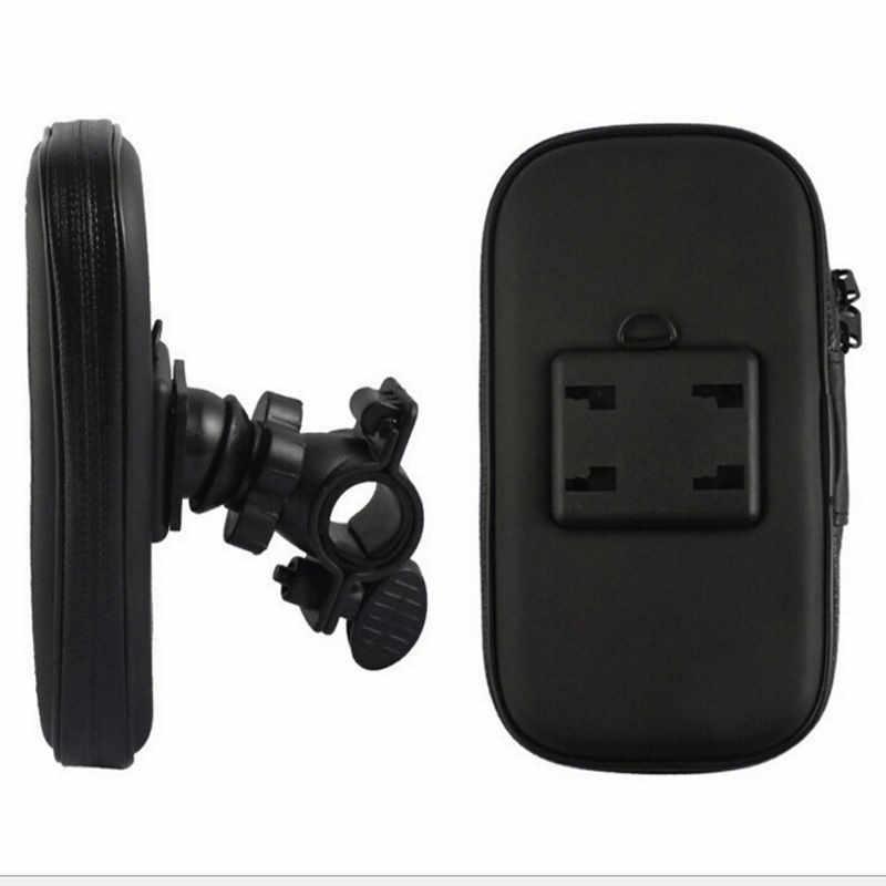 مقاوم للماء دراجة دراجة نارية جراب هاتف حقيبة المقود جبل حامل ل iphone6 7 8 XR XS لسامسونج غالاكسي S8 S9 ل LG