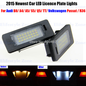 Licence Plate Light Rear Tail Lamp
