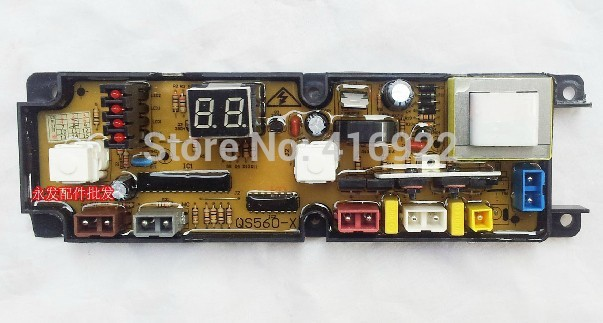 Free shipping 100%tested for  washing machine board XQB52-5201A control board HF-QS560-X motherboard on sale free shipping 100% tested for sanyo washing machine accessories motherboard program control xqb55 s1033 xqb65 y1036s on sale