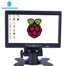 7″ HD 1024×600 TFT LCD Screen Display AV/VGA/HDMI Monitor Built-in Speaker for CCTV Computer PC DVR Home Office Raspberry Pi 3