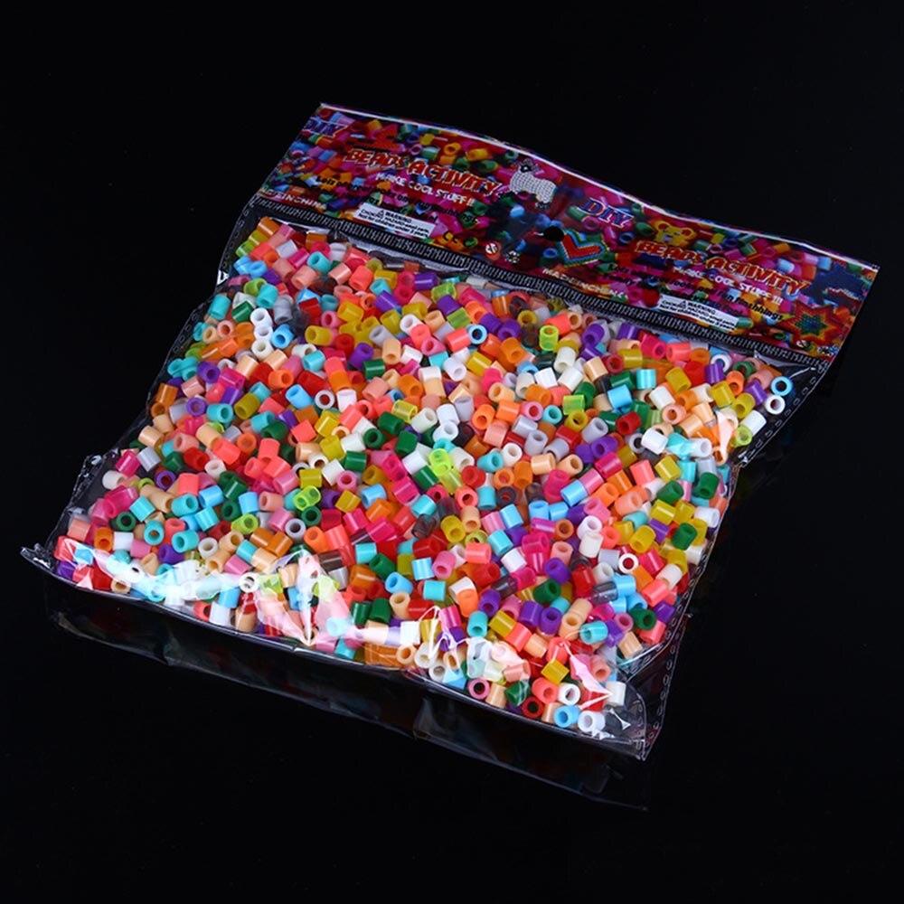 1000pcs 5mm/2.6mm EVA Hama Perler Beads Toy Kids Fun Craft DIY Handmaking Fuse Bead Multicolor Intelligence Educational Toys