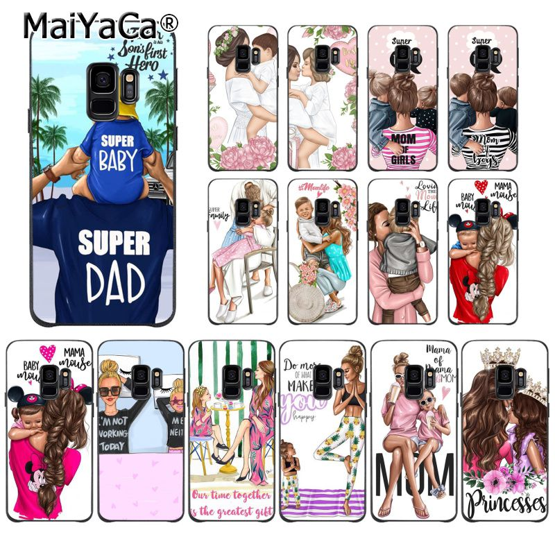 Maiyaca Phone-Case S8plus S7edge Samsung S9 Daughter For S5 S6 S6plus/S7/S7edge/.. Beautiful