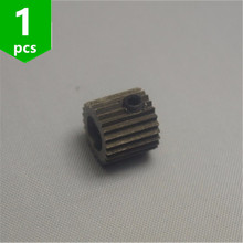 1 pcs zortrax M200 pakan Extruder drive gigi gigi 3D printer suku cadang/aksesoris(China)