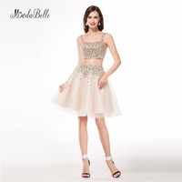 modabelle Hot Short Tulle Champagne Cocktail Dresses Semi Formal Homecoming Graduation Party Dress Vestido de Festa Importado