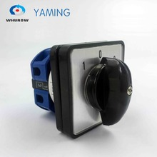 Changeover 3-Position-102-Knob Cam-Switch Contact Ymw26-25/1-Rotary-Switch LW26 1-Phase