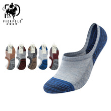 The latest 2019 hot PIER POLO summer new socks cotton boat thin mens invisible manufacturers wholesale direct
