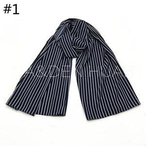 Image 3 - NEW chiffon striped print hijab scarf sea star pattern fashion women muslim hijabs islamic scarves shawls brand soft muffler