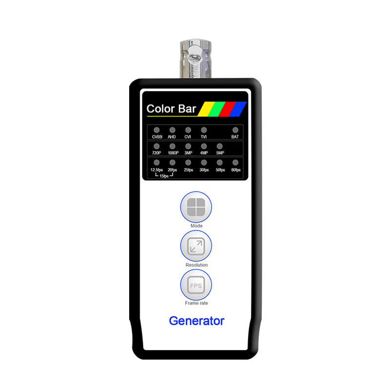 Color Bar Generator 4MP CVI/5MP TVI/ 5MP AHD+CVBS Output with VT 4800 Support PAL/NTSC output and Cable/line detection|Transmission & Cables| |  - title=