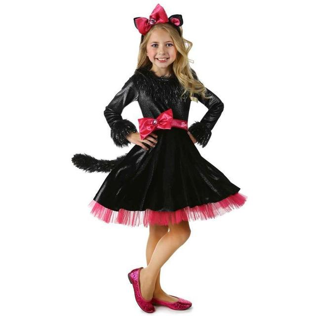 Halloween costume party little girls cat costumes mask party cute kids dress children role party cosplay  sc 1 st  AliExpress.com & Halloween costume party little girls cat costumes mask party cute ...