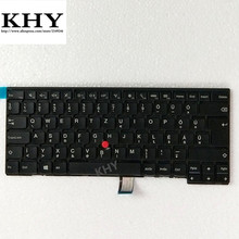 Original HU HUN Keyboard For ThinkPad L440 L450 L460 T431S T440 T440P T440S T450 T450S T460 series fru 04Y0839 04Y0877 00HW891(China)