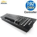 Новейший 192 DMX контроллер диджей оборудование DMX 512 консольное сценическое освещение для Светодиодный прожектор с движущимся паром