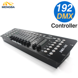 NEWEST 192 DMX Controller DJ Equipment DMX 512 Console Stage Lighting For LED Par Moving Head Spotlights DJ Controlle