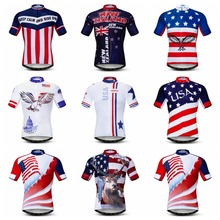 6df61e8c6 USA 2019 cycling jersey Men Mountain Bike jersey Pro MTB Bicycle Shirts  Road Tops Ropa Ciclismo