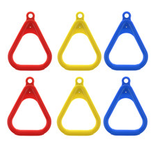 6 stücke Trapeze Ringe für Schaukel Im Freien Spielplatz Ausrüstung Schaukel Ring Accs