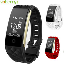 S2 плюс Bluetooth Smart Band Браслет Heart Rate Мониторы IP67 Водонепроницаемый SmartBand браслет, трекер активности для Android IOS 41