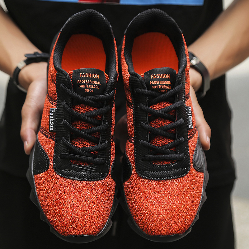 Da 38 Lâmina Sneakers 46 Marca New Calçados 2019 Homens grey Sola ~ Designer Non orange Esportivos Homem green De Black Amortecimento slip H1706 Sapatos Respirável W7wAWqYt