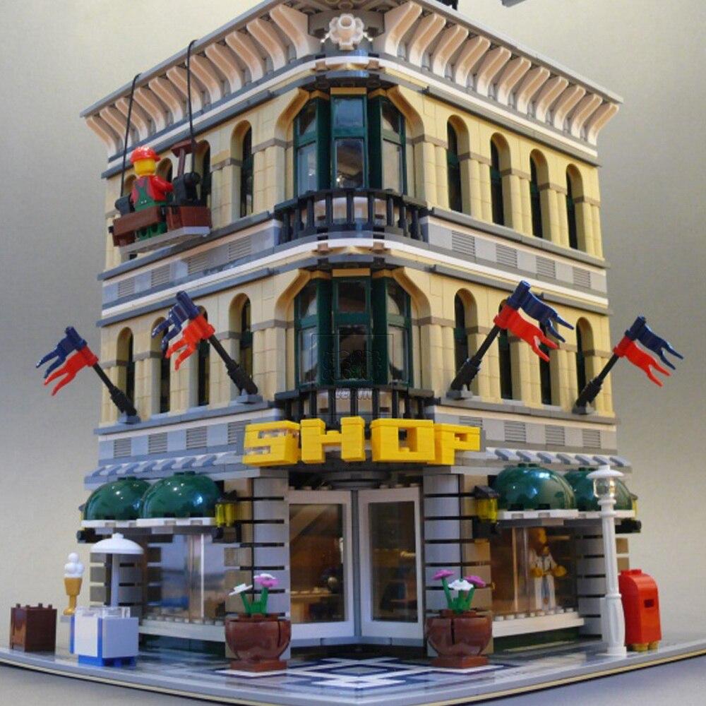 Nouveau Lepin 2017 15005 2232 pièces Ville Créateur Grand Emporium Modèle Kits de Construction Blocs jouet de construction Compatible 10211 legoed - 2