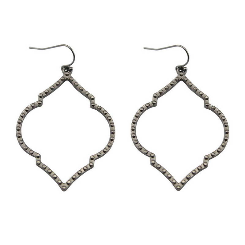 2017 Geometric OPEN CHANDELIERS Earrings for Women Fashion Boutique Essential Everyday Jewelry Wholesale