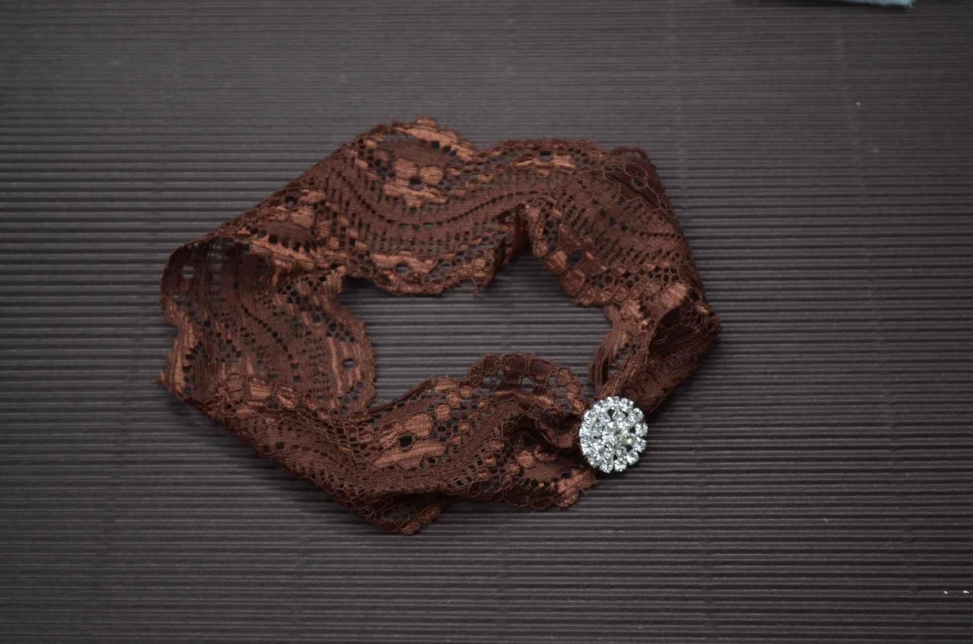 תינוקת אביזרי שיער להקת יהלומים יילוד כובעי כיסוי ראש גומייה לשיער מתנה פעוטות בגדים