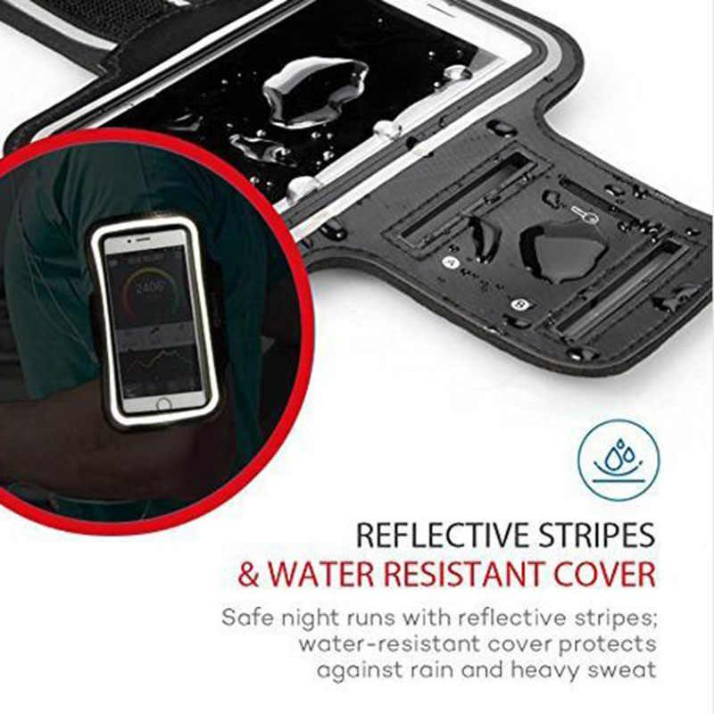 Estuche Universal resistente al agua para correr, gimnasio, deporte, teléfono móvil, banda para el brazo, soporte de bolsa para iPhone, Smartphone a mano