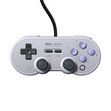 Official8BitDo mando con cable SN30 Pro, USB, para Nintendo Switch, Windows, Raspberry Pi, SN Edition