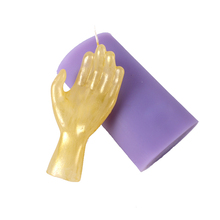 3D Hand Finger Shaped Silicone Soap Candle Mold Diy Handmade Craft Halloween Mould