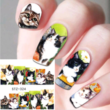 1 Sheet Nail Art Water Transfer Stickers