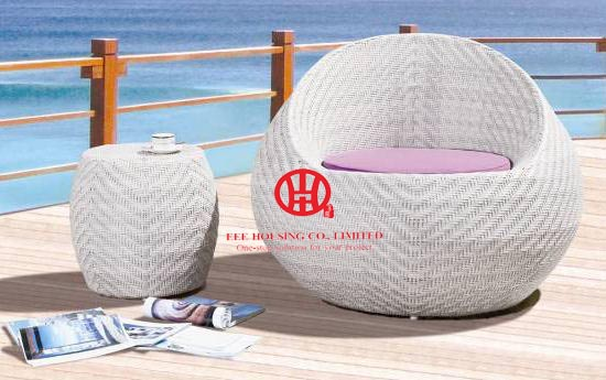 Rattan Outdoor Poolside Wicker Plastic Sunbed