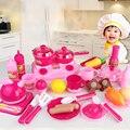 30 unids/set bebé pretend rol play de corte de alimentos de cocina conjunto de juguete educativo para niños niño classic toys