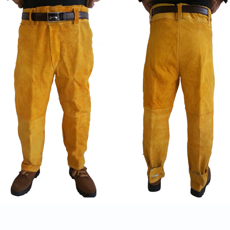 Welding Safety Clothing Flame Retardant Pure Leather Welder Protective Clothing Anti-scalding Welder overalls Workplace Clothes (5)